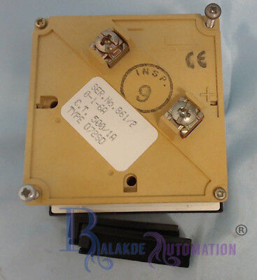 Hobut Panel 500/1A A-meter AMP METER (USS)