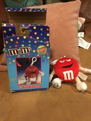 M&M's Mini Plush Red Radio