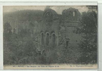 ORVAL - les ruines