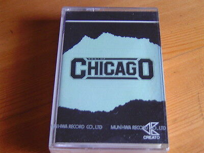 Chicago Best Of 1990 12Tracks Korea Cassettes Tape Sealed
