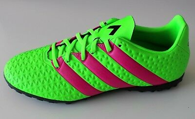 9cca6769a Adidas ACE 16.4 TF Green Soccer Cleats Football Turf Boots Mens Shoes Size  US-11