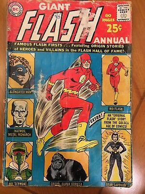 FLASH ANNUAL #1: Silver Age,  Eighty Page Giant!!