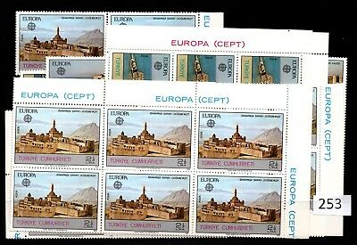 = 25X Turkey - Mnh - Europa Cept 1978 - Architecture - Wholesale