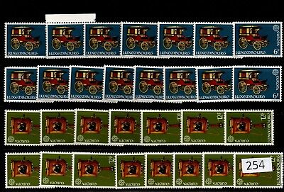 = 15X Luxembourg - Mnh - Europa Cept 1979 - Transport - Wholesale
