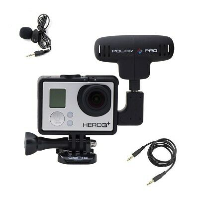 Polar Pro ProMic Professional Gopro Hero Cameras Microphone Kit Cable Set
