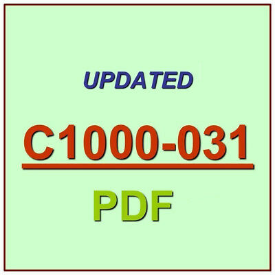 C1000-031 - IBM Power Systems Scale-Up Technical Sales Practice Test *Edited*