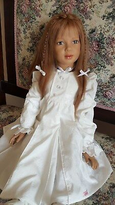 "Sigikid Doll 'Andrea' 28"" by German Artist Ilse Wippler. Certificate & Orig.Box!"