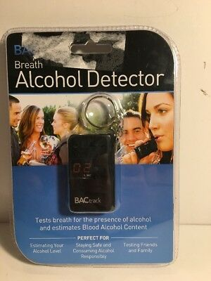 BACtrack Breath Alcohol Detector BAC Track New