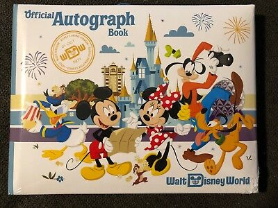 Walt Disney World Autograph Book BRAND NEW SEALED