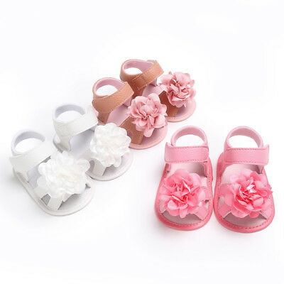 Girls Shoes Polyurethane Children Casual Toddler Flower