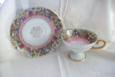 Tea Cup and Saucer by Enesco