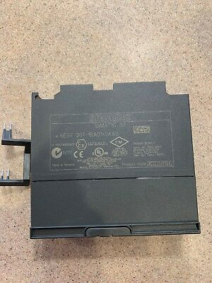 Siemens 6ES7 307-1BA01-0AA0 SIMATIC S7-300 PS307 Power Supply 2A