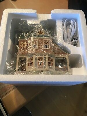 Dept. 56 Seasons Bay Side Porch Cafe 1st Edition Lighted House Village MINT COND