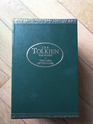 JRR Tolkien The Hobbit. The Lord Of The Rings 4 Paperback Books. Set