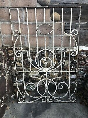 Antique WROUGHT IRON Gate / Fence