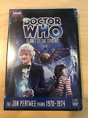 Doctor Who PLANET OF THE SPIDERS *FACTORY SEALED* Jon Pertwee Story No 74 DVD R1