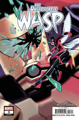 Unstoppable Wasp #3 (Marvel, 2019) 1ST PRINT