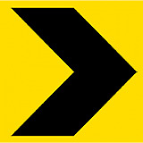 Temporary Traffic Signs -  CHEVRON