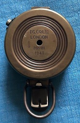 1941 WWII TG. Co. Ltd. London MKIII Compass