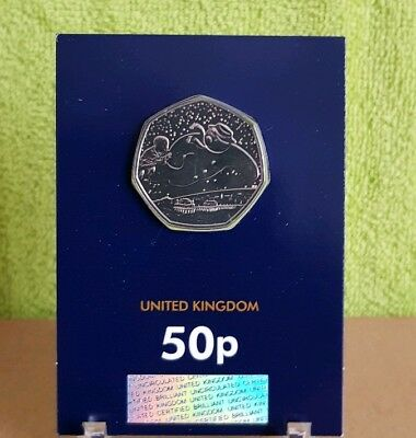 2018 UK The Snowman CERTIFIED BU 50p...