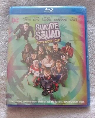 Suicide Squad Extended Cut Blu Ray NEW
