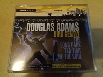 Dirk Gently: The Long Dark Teatime of the Soul by Douglas Adams cd x 3 Audiobook