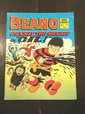 Beano Comic Library No.176 1989 Dennis the Menace in OIL