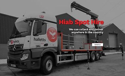 Nationwide Hiab Service, Shipping Container, Anti Vandal, Portacabin,