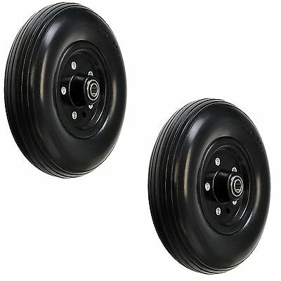 """8""""x2"""" (200x50) Rear Caster Wheels for the Jazzy Select HD Power Wheelchairs"""