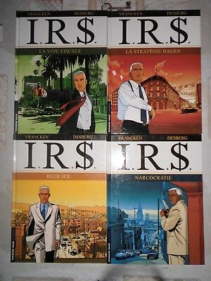 IRS - lot de 4 albums dont 3 EO