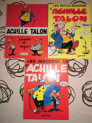 lot de 3 BD  ACHILLE TALON