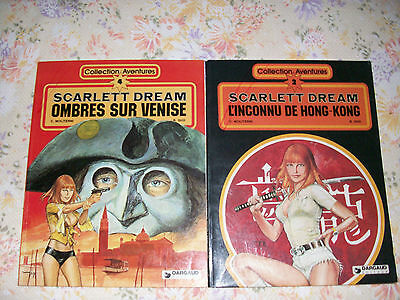 lot de 2 albums SCARLETT DREAM tomes 2 et 4 (EO)