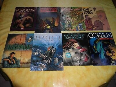 Lot de 8 BD fantastique/science-fiction