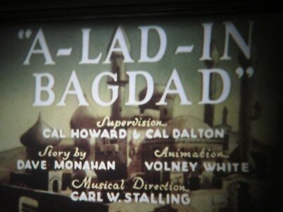 """16mm sound Warner Brothers """" Lad in Bagdad """" like new AG Low Fade"""