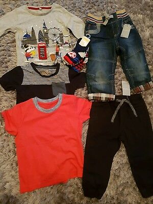 M&S & Matalan Baby Boys Bundle 12-18 Months some New withTags Next day dispatch