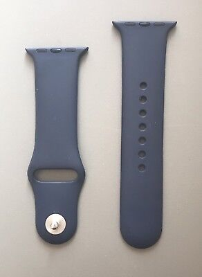 Genuine Apple Watch 38mm Band Midnight Blue - Excellent Condition