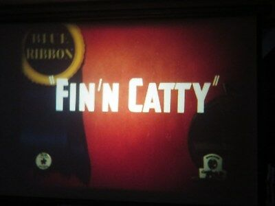 """16mm sound Warner Brothers """" Fin'n Catty """" like new Eastman LPP color"""