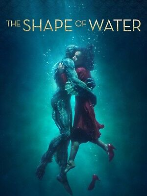 The Shape of Water download code ONLY from 4k blu ray
