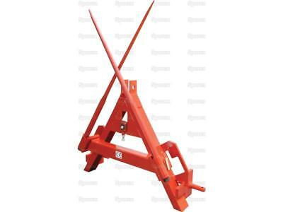 BALE SPIKE 3 POINT LINKAGE OR A FRAME MOUNTED, CAT 2 Front or Rear Folding Tines