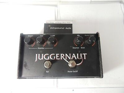 ProCo Juggernaut Bass Rat Distortion Effects Pedal Free USA Shipping
