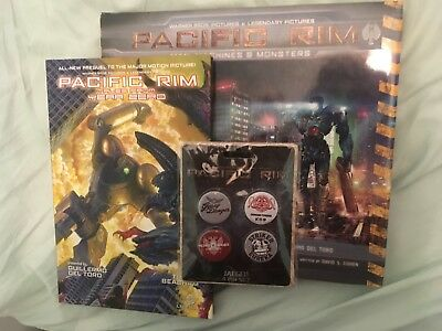 Pacific Rim Collection: Tales from Year Zero + Man Machines & Monsters + Badges!