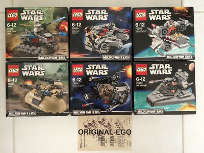 Lego Star Wars 75028 75029 75030 75031 75032 75033 Microfighters Serie 1; Ultimo