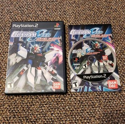 Mobile Suit Gundam Seed: Never Ending Tomorrow Sony Playstation 2 PS2 Complete