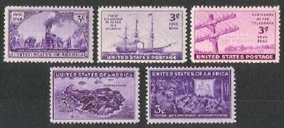 1944 US Mint NH Year Set #922 - 926 Complete Set of 5