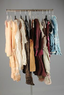Vtg Girls 1920s Dresses Tops As Is Mixed Lot of 12 Children's 20s Clothes #4957