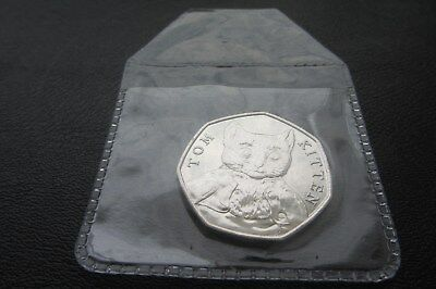 2017 BEATRIX POTTER  COIN 1 x 50p 'TOM KITTEN' UNCIRCULATED !!Free p&p       M22