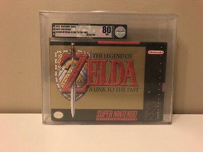 The Legend of Zelda: A Link to the Past (SNES) New, Sealed, VGA80