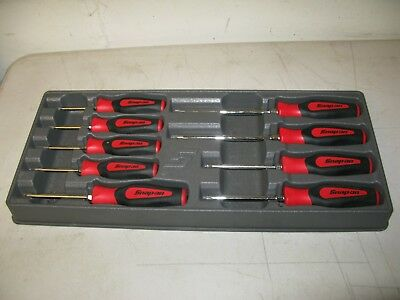 Snap-On Torx Screwdriver Set  Snap On Screwdriver Set 9 Piece Torx  Set In Tray