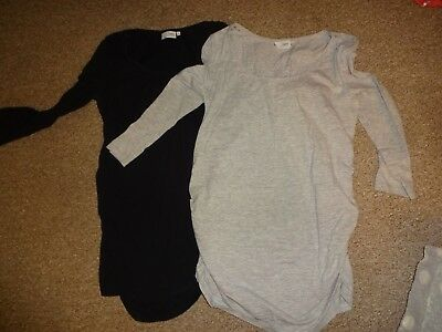 Maternity Clothes Bundle Size 12 - Next - X2 Long Sleeve Casual T-Shirt Tops