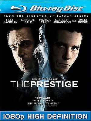The Prestige    *Like New*  (Blu-ray Disc, 2007)  Christian Bale